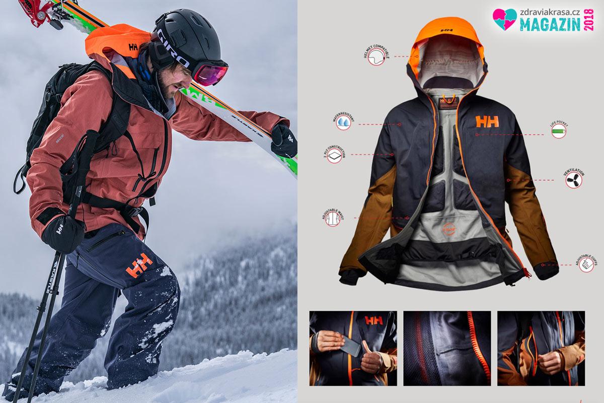 Helly Hansen jsou bundy s unikátními technologiemi vhodnými i pro extrémní zimní podmínky.