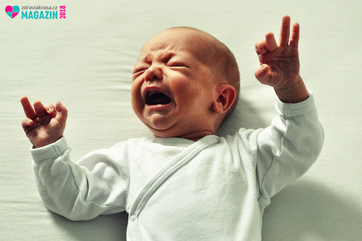 Kojenecká kolika umí pěkně zkomplikovat první týdny života dítěte.