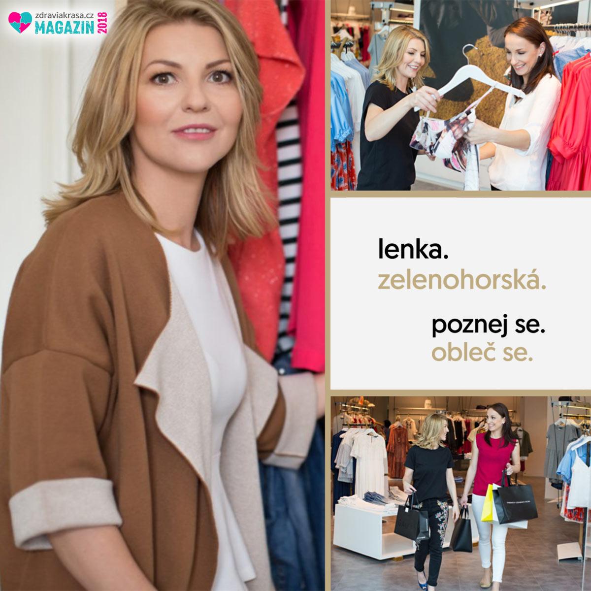 Lenka Zelenohorská pomáhá ženám poznat se a změnit svůj styl.