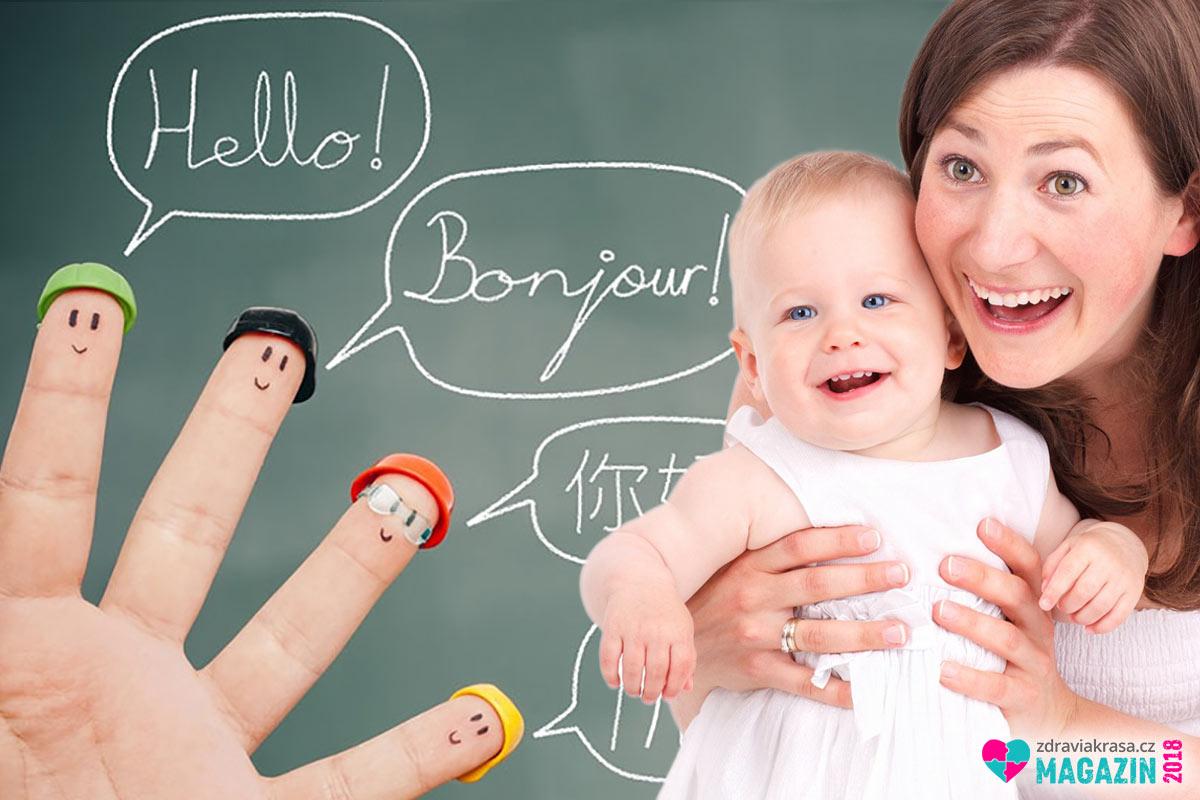 Batolata se naučí mluvit i bez biflování slovíček a gramatiky. Opravovat je při mluvení se dokonce považuje za kontraproduktivní. Děti pochopí jazyk naprosto přirozeně. Stačí jim dát prostor mluvit a nekazit jim radost ze samotného mluvení, třeba již zmíněným neustálým opravováním.