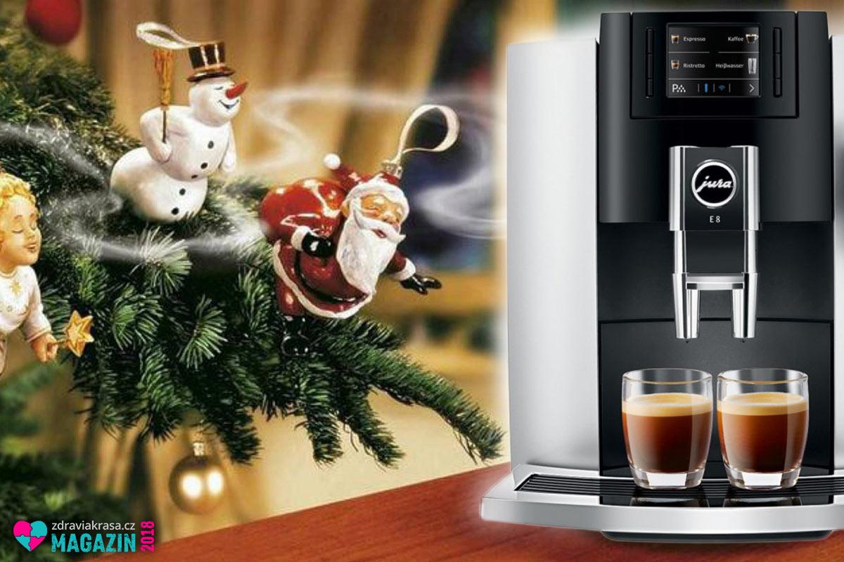 Už máte vymyšlený rodinný dárek pro letošní Vánoce 2018? Kávovary JURA nezklamou.