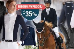 Kvalitní jezdecké potřeby ovlivňují při jízdě na koni pozitivně naše zdraví. Pojďte si nyní u Equestrians nakoupit to nejlepší jezdecké oblečení se slevou.