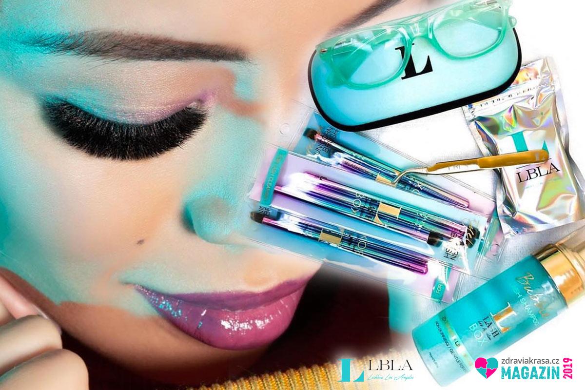 Ručně vyráběné americké řasy Lashbox LA jsou klíčové pro dokonale vypadající oční make-up.