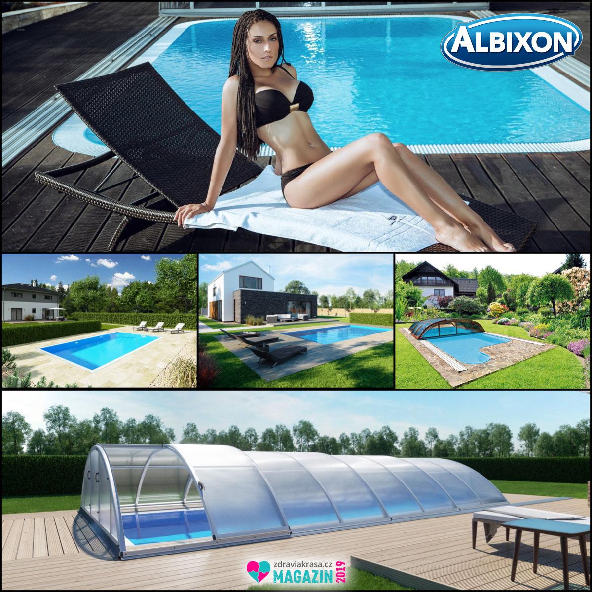 Kvalitní bazén se zastřešením nabízí dlouhou životnost a vysokou užitnou hodnotu.