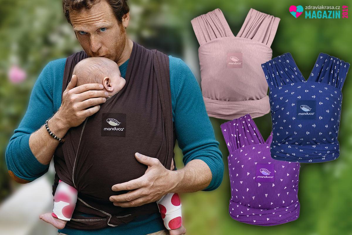Jak na nanošení miminek? Šátkování a moderní nosítka poskytují řadu výhod rodičům i kojencům.
