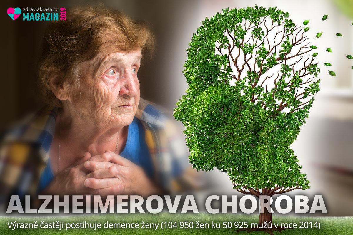Ženy se sice dožívají vyššího věku než muži, ale na oplátku trpí častěji Alzheimerovou chorobou.
