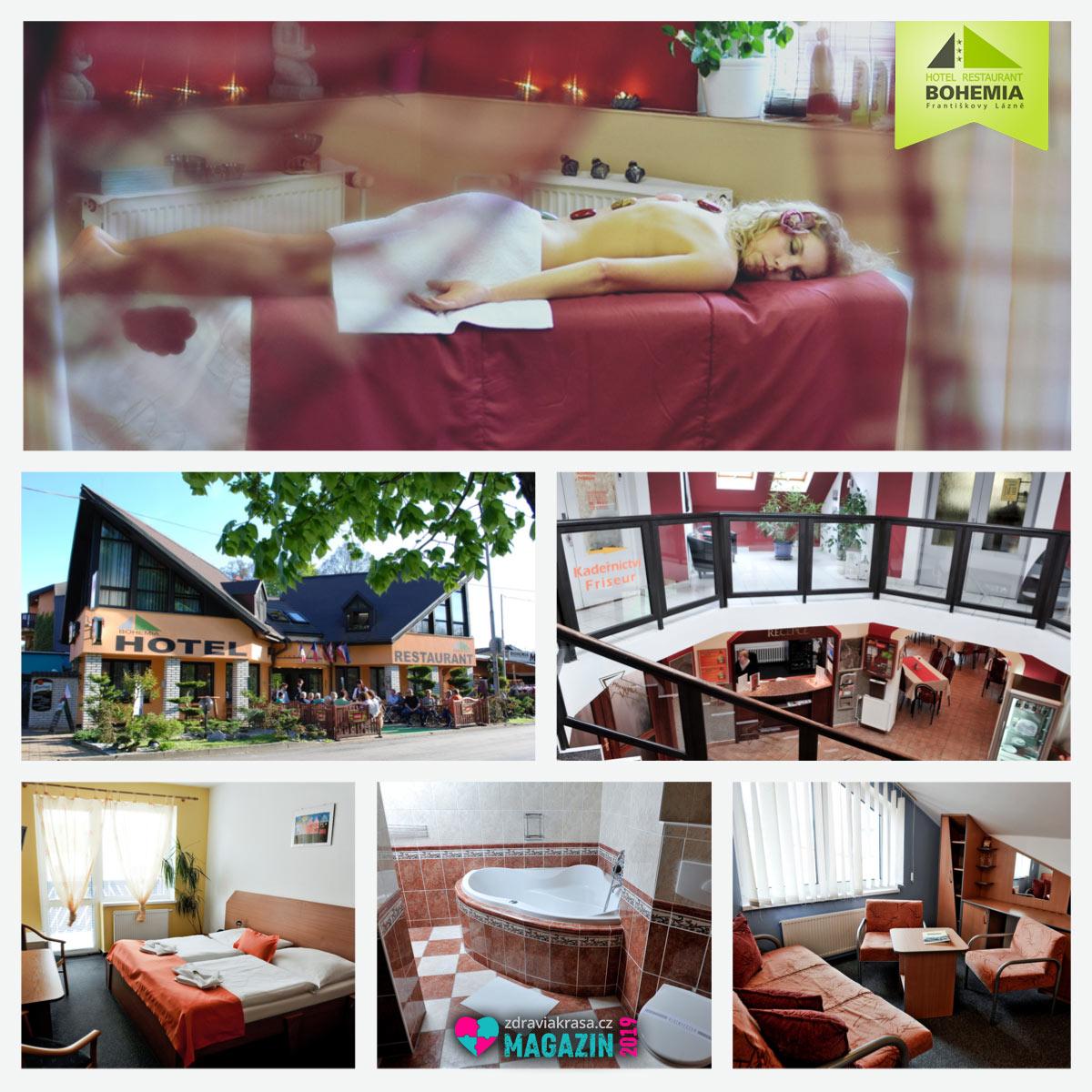 Wellness pobyty 2019 jako wellness pro dva jsou jen jednou z mnoha možností, které Hotel Bohemia Františkovy Lázně nabízí.