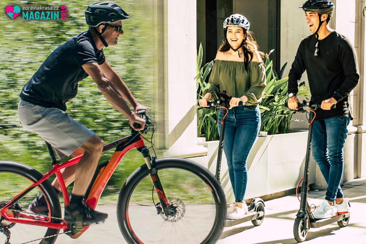 Dvě kola znamenají zdravý životní styl, čtyři pak přesný opak.