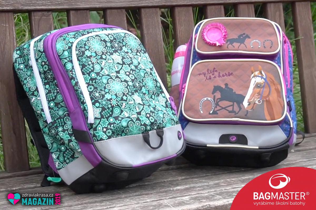Správný výběr aktovky nebo batohu pro školáky je základem boje proti bolesti zad u dětí. Volte ergonomické a bezpečné produkty.