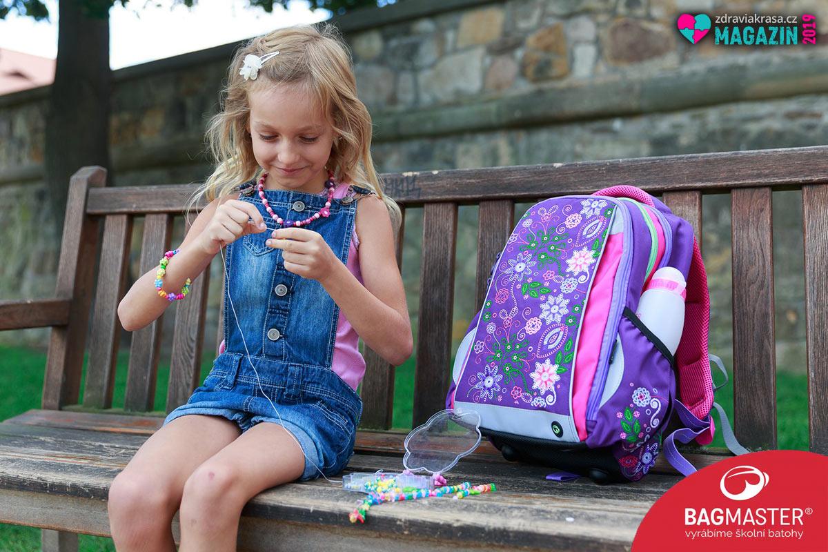 Vhodný školní batoh dokáže být současně hezkým. Podívejte se na batohy a aktovky pro prvňáčky i starší děti od českého výrobce Bagmaster.