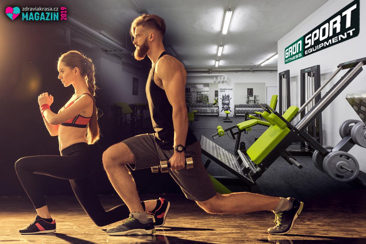 GRÜN SPORT vybaví velké fitness centrum i malou posilovnu třeba ve wellness centru, v hotelu nebo ve vaší firmě.