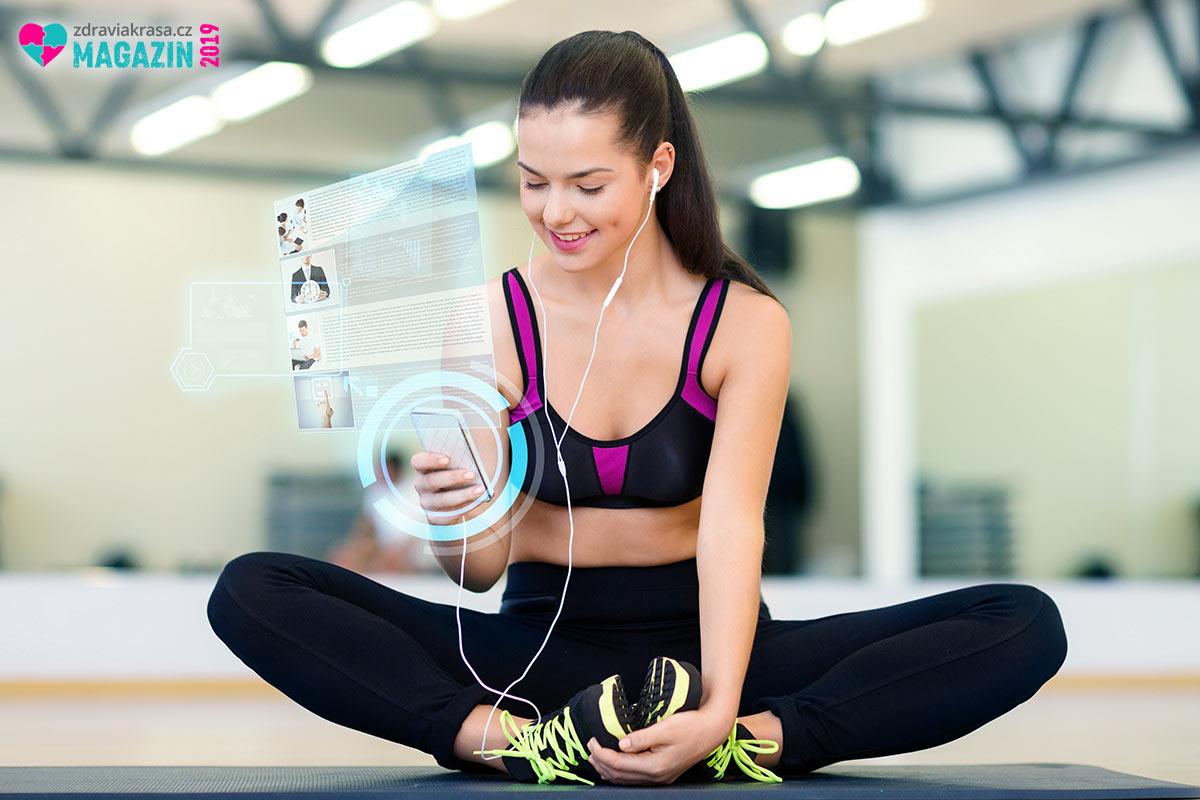 Fitness aplikace jsou cestou ke zdravějšímu životnímu stylu.