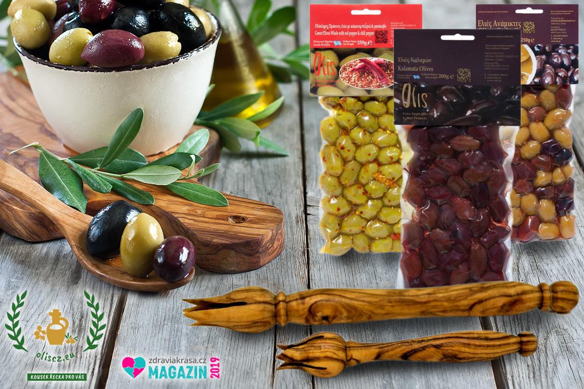 Řecké Vánoce u vás doma: nezapomeňte na olivy i jejich stylové podávání se správným napichovátkem na olivy.