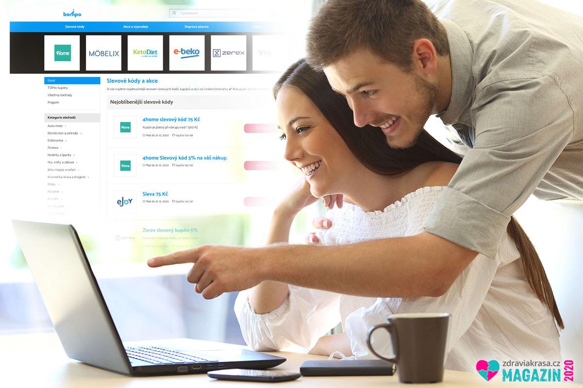 Výhodný nákup online je možný i díky slevovým kuponům a kódům.