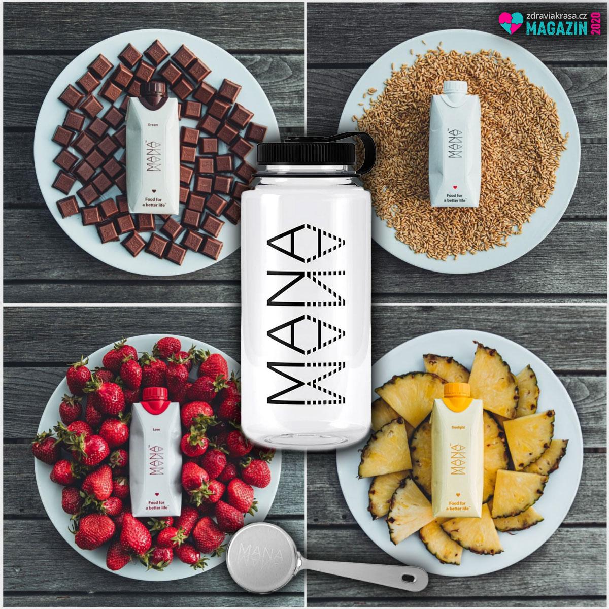 Mana je nutričně plně vyvážené jídlo třeba pro ty, kdo jídlem nechtějí ztrácet čas.