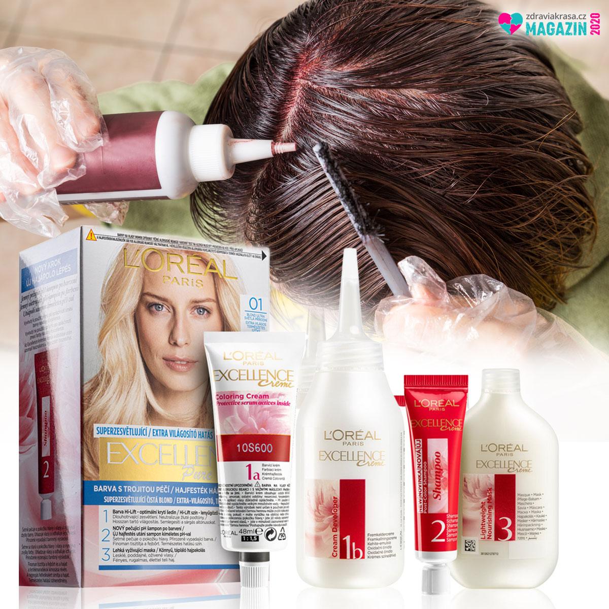 Barvení vlasů doma může být stejně profesionální, jako v kadeřnictví. Potřebujete k tomu jen profi barvy a profi vlasovou kosmetiku.