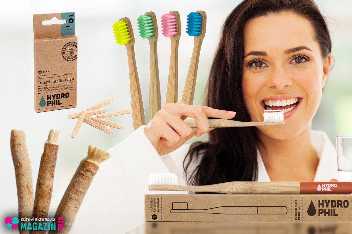 I naše ústní hygiena může být s ohledem na ekologii a trvale udržitelný rozvoj. Přejděte od plastu k bambusu.
