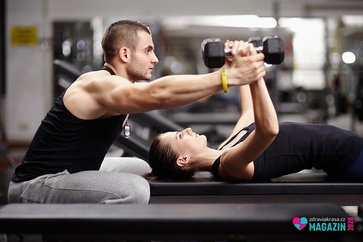 Když cvičení, tak s odborníkem.
