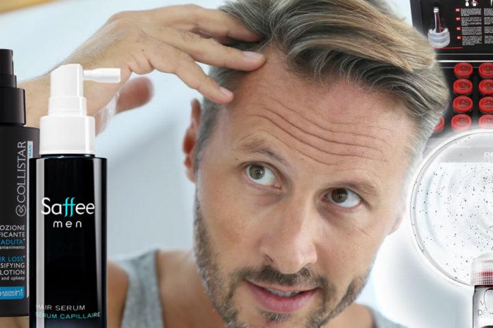 Máte v rodině plešatost a vlasy začínají padat už i vám? Neházejte flintu do žita. Není pravda, že s vypadáváním vlasů u mužů se nedá nic dělat.