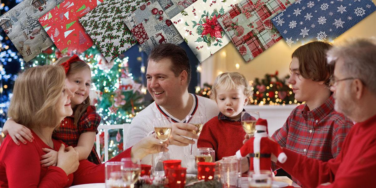 Připravujte letošní Vánoce spolu s dětmi. Třeba tvorbou vlastních dekorací. Příliš věcí k tomu nepotřebujete. Pouze hezké vánoční látky a nápady na tvoření.