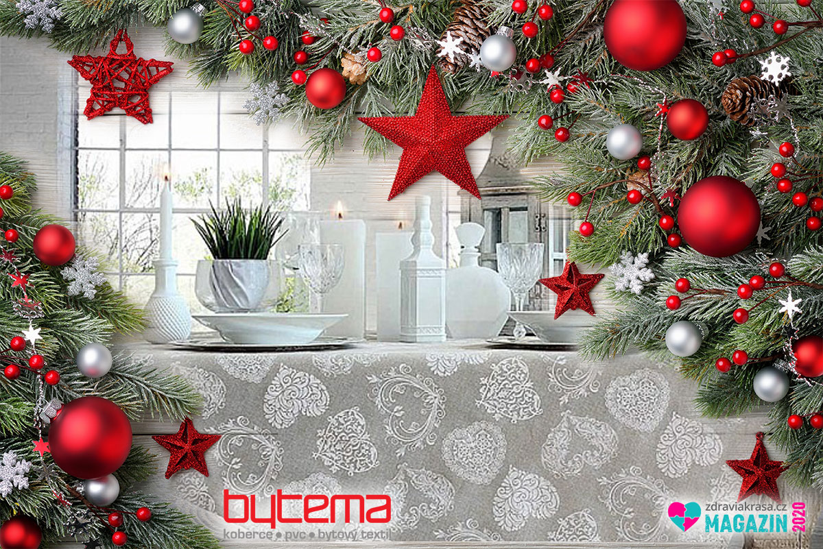 Vánoční látky dávají styl Vánocům. Na jaké vsadíte letos vy?