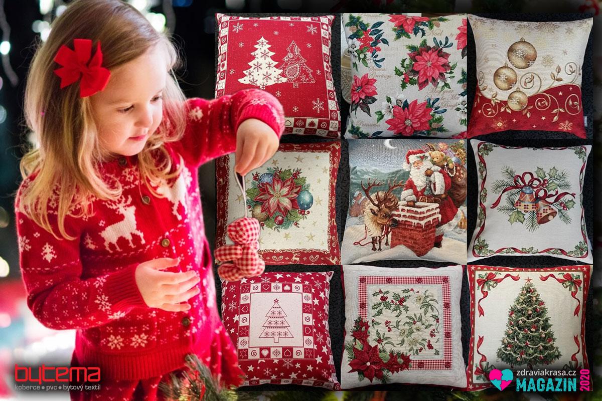 Dekorace a vánoční látky přenesou děti doslova do pohádky.