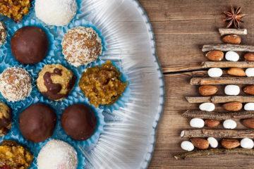 Zdravé vánoční cukroví zovesných vloček oživí kešu ořechy