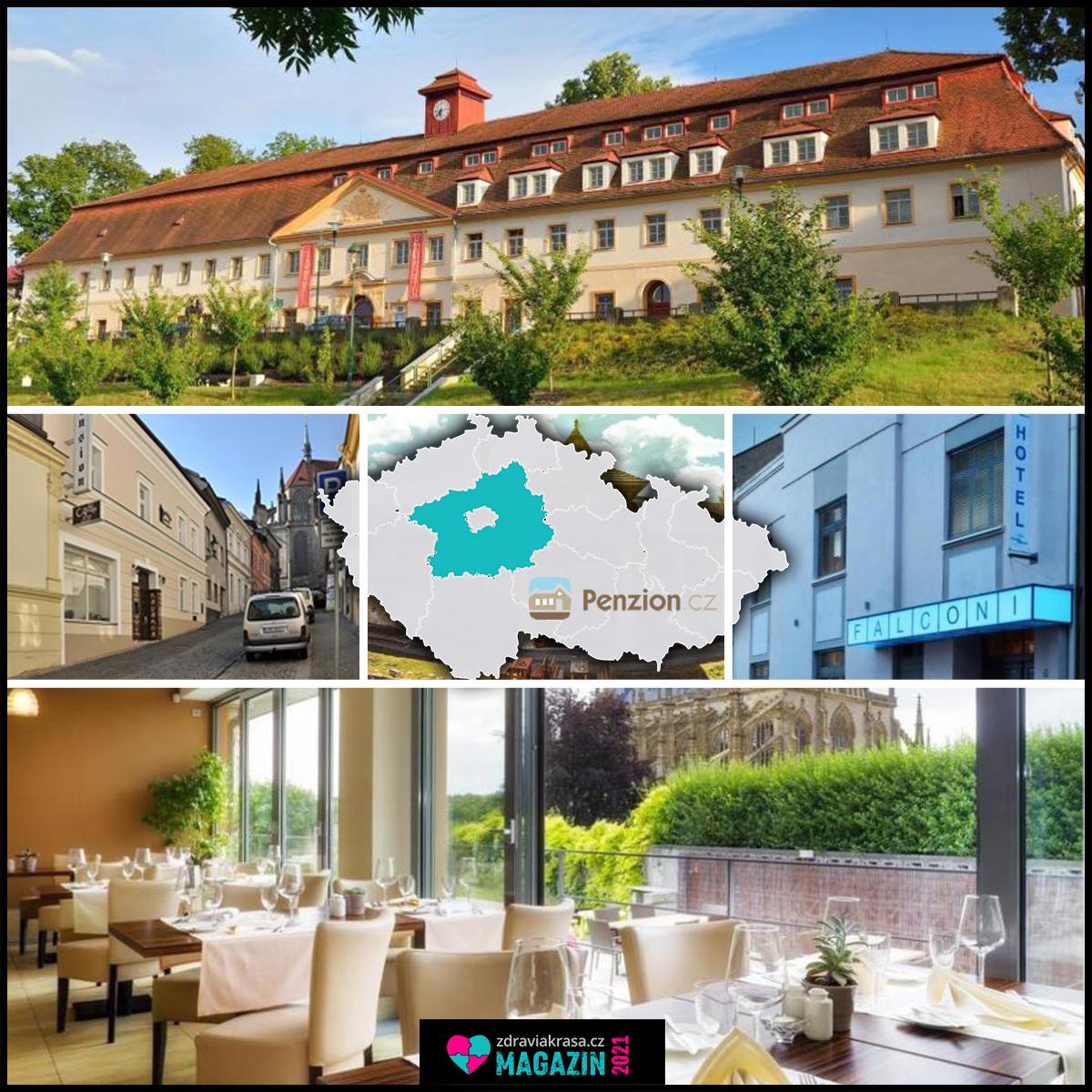 Penziony ve Středních Čechách vás ubytují v místech s nejznámějšími českými památkami.