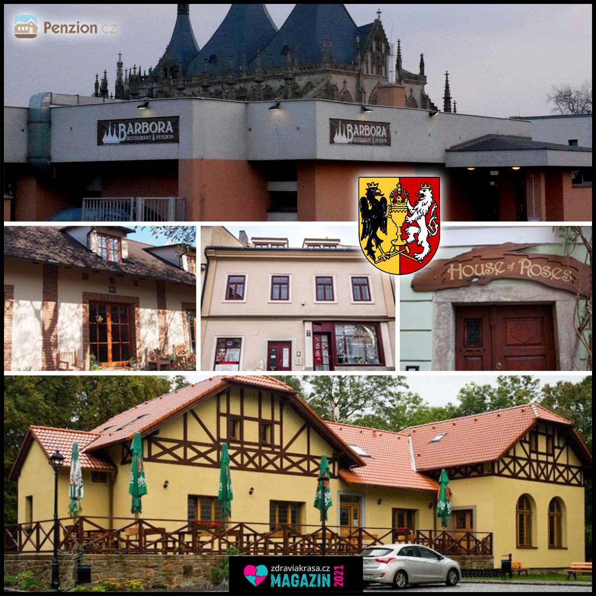 Střední Čechy, to je i Kutná Hora, místo, kam se budete s láskou vracet. Najděte si zde svůj penzion.