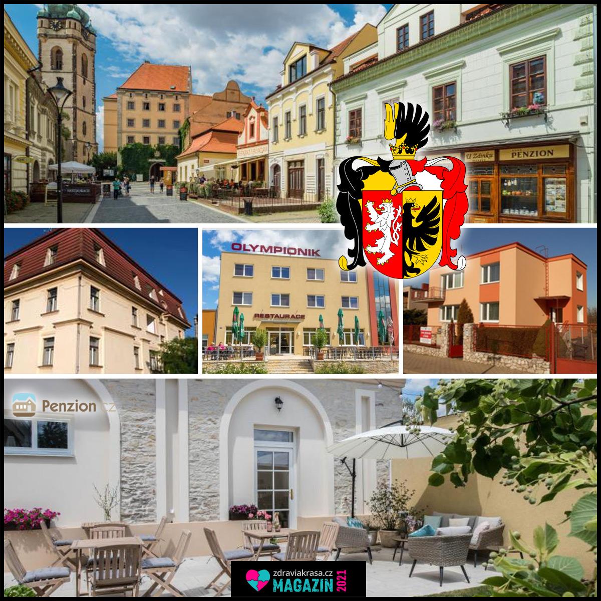 Mělník je kousek od Prahy, penziony jsou zde levnější a památek v něm najdete přehršle.
