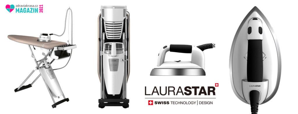 Žehlicí systémy LAURASTAR se hodí do domácnosti i pro profesionály.