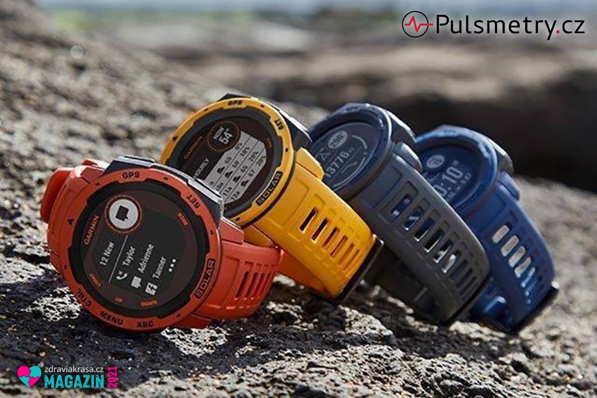 GPS sportovní hodinky Garmin se hodí pro více sportů současně.