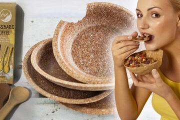 Ekologické nádobí je jedlé nádobí.